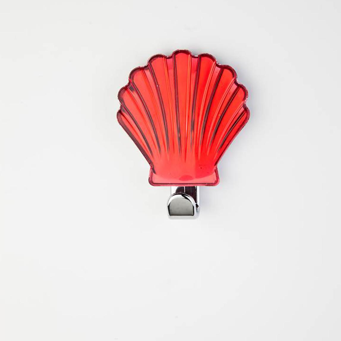 Dekoratif Askı Midye Kırmızı