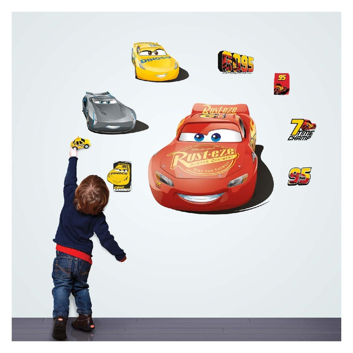 Cars Duvar Sticker
