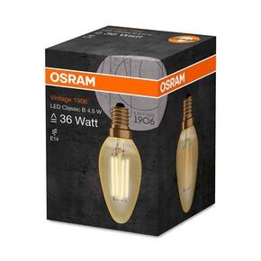 Led Clb36 Fil Gold 4,5W/825 E1 Led Clb36 Fil Gold E14 420Lm