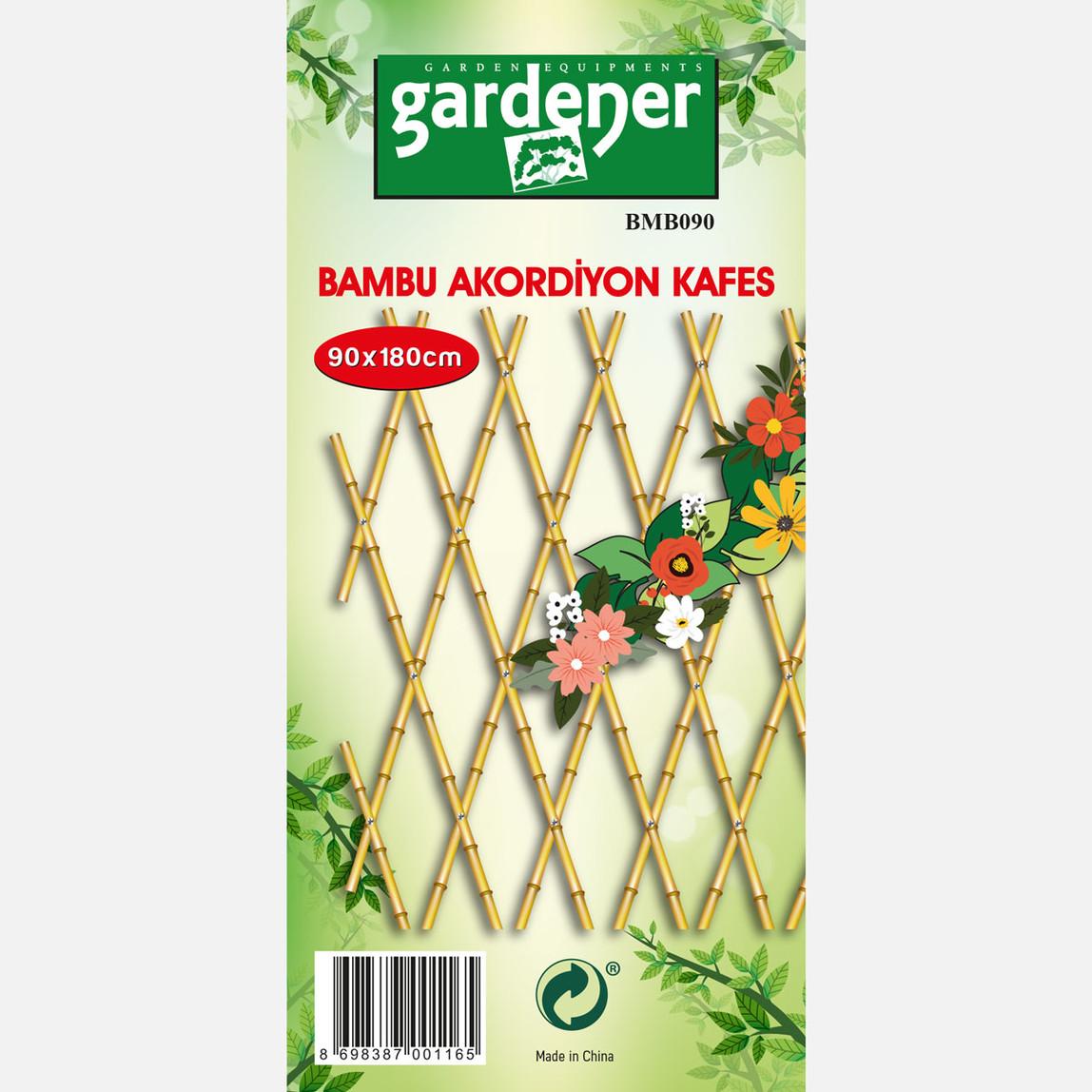 Gardener Bambu Akordiyon Kafes
