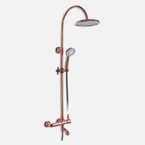 Bosphorus Rose Bronze Banyo Duş Sistemi
