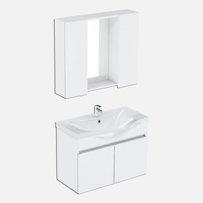 Basic Banyo Dolabı 80cm
