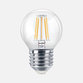 Ecolite Led Filament Flame 2'li G45 Ampul
