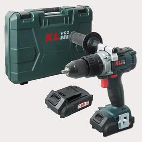KL Pro KLDM1820B 18V 2.0Ah Çift Akülü Şarjlı Darbeli Vidalama Matkap