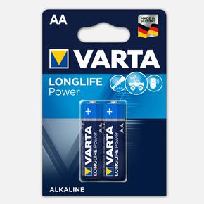 Varta Longlife Power 2 AA Alkalin Pil