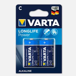 Varta Longlife Power  2 C Alkalin Pil