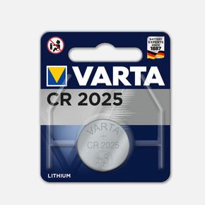 Varta Li Elekt Cr 2025 Pil 3V Electronic Pil