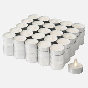 Tealight Mum Beyaz 100'lü