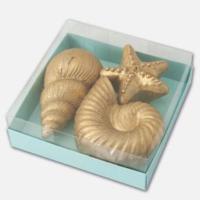Dekoratif Deniz Seti Mum