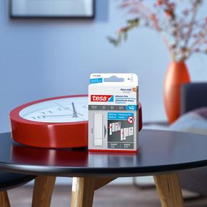 Tesa®İz bırakmadan Sökülebilir Yapışkan Şerit Bantlar, Duvar ve Duvar Kağıdı için1 kg, 6 adet