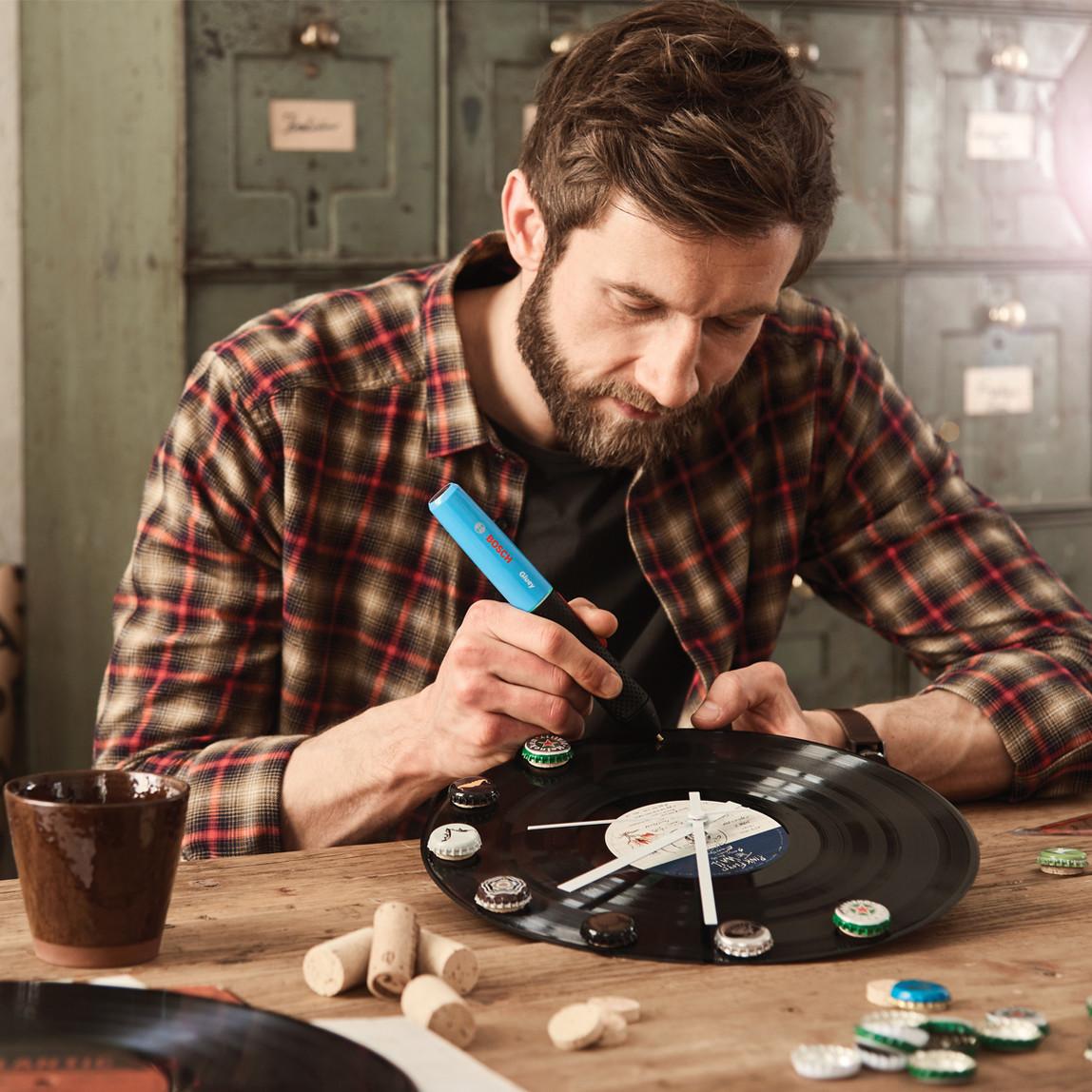 Bosch Gluey Akülü Tutkal Kalemi Beyaz
