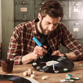 Bosch Gluey Akülü Tutkal Kalemi Pembe