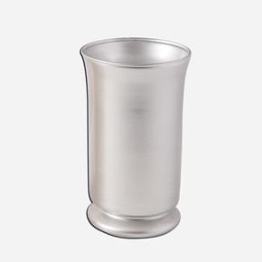 Dekoratif Vazo Gümüş 11x19cm