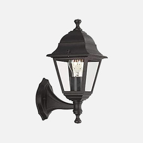 Lima Wall Lantern Aplik Siyah