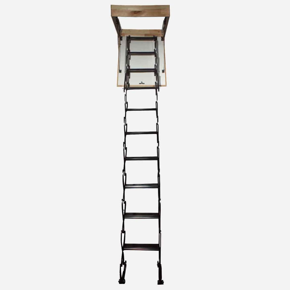 60x80 cm Akordıyon Çatı Merdiveni