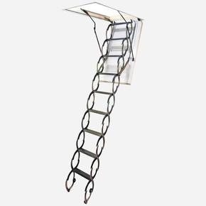70*80Cm Akordıyon Çatı Merdiveni