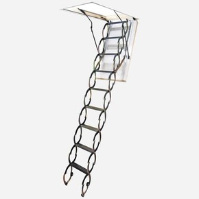 70*90Cm Akordıyon Çatı Merdiveni