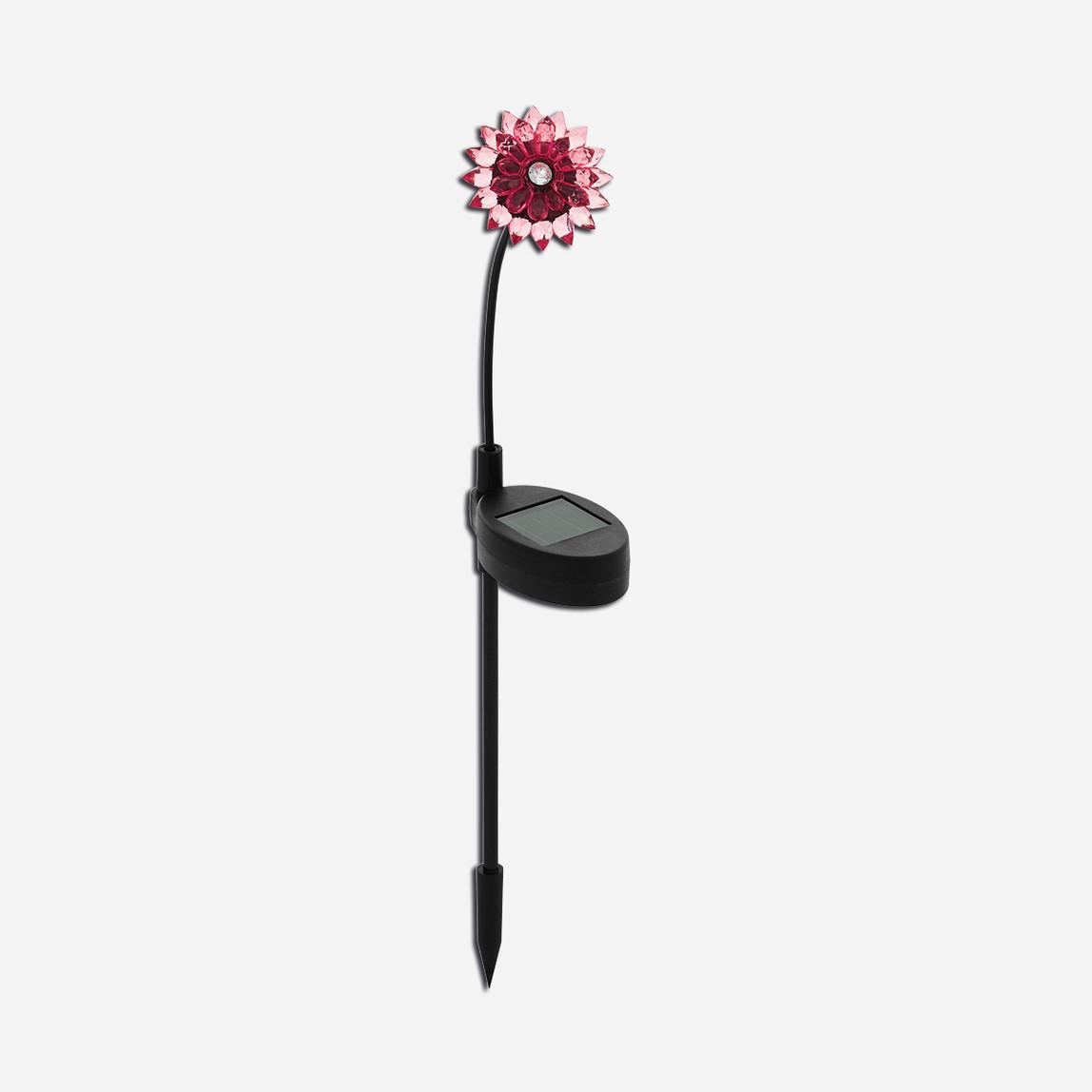 Eglo Solar Çiçek Saplama Kırmızı