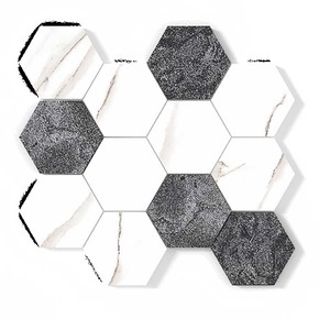 14,7X14,7 New Hexagon 005 1Kutu=0,65M2