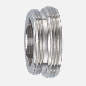 Nikel Kaplı Metal Adaptör M22/M24