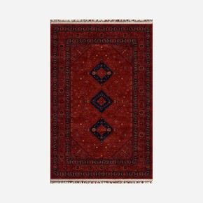 Afganı 011 Red Red 90x300 Halı