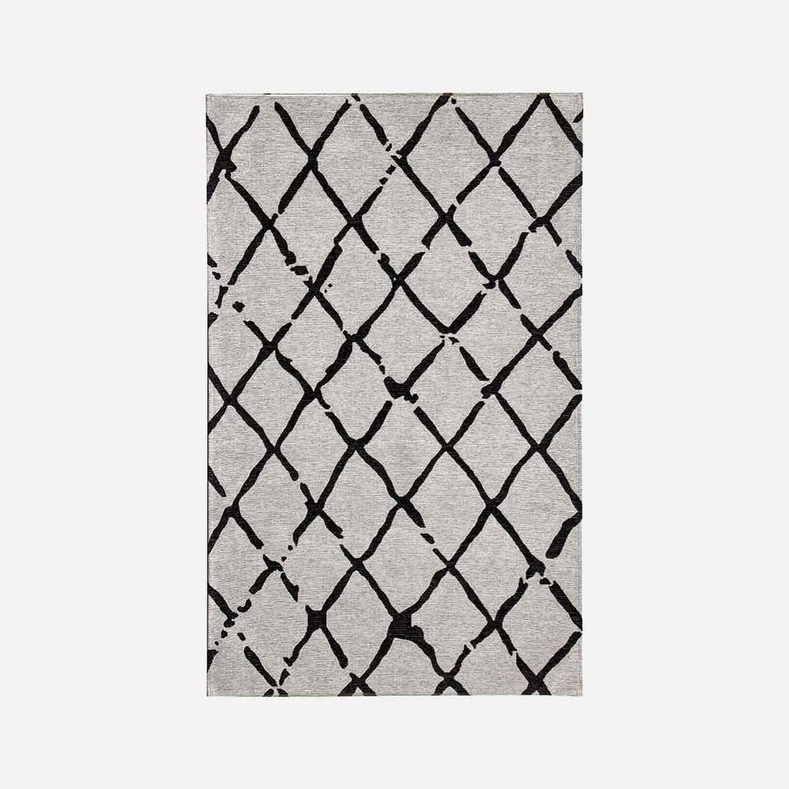 Balı Grey Black 80x300 Halı