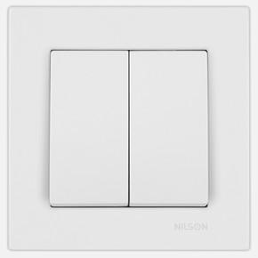 Moda Beyaz Işıklı Komütatör