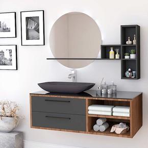 Orıa 120 Cm Banyo Mobilyası
