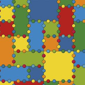 Beaulieu Pvc Yer Döşemesi Puzzle 2-B