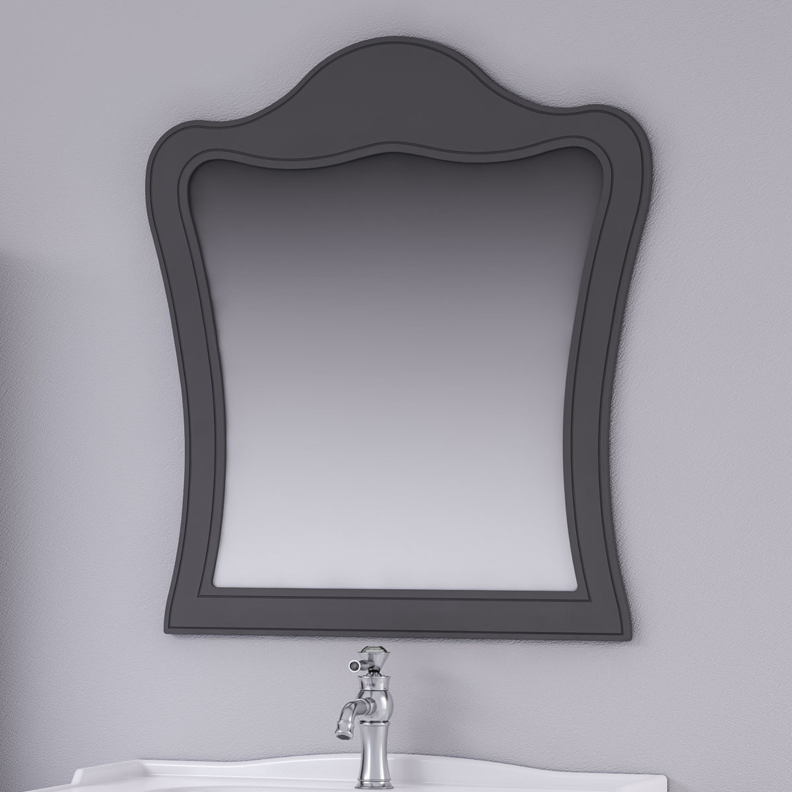 Torino Üst Ayna Mat Gri