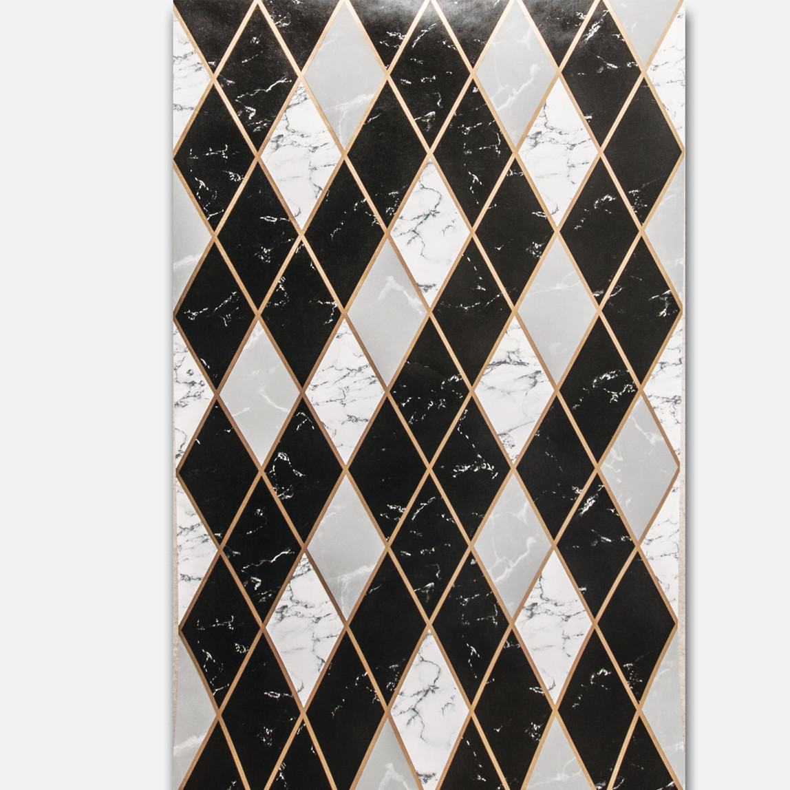 Baklava - Mermer Siyah Duvar Kağıdı
