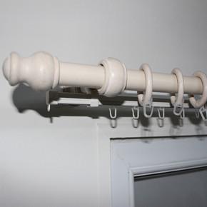 Ahşap Rustik 28 mm 250 cm Beyaz