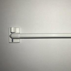 Briz Çubuğu Yuvarlak 60-120 cm Beyaz %100 Uzamalı