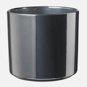 Lasvegas Saksı Gümüş 21Cm.