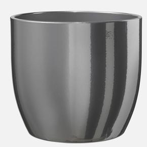 Basel Saksı Gümüş 13Cm.