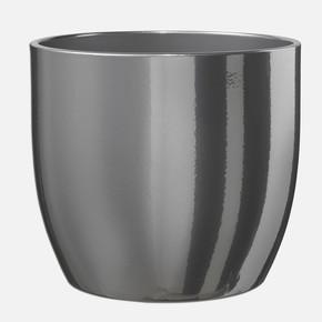 Basel Saksı 14Cm. Gümüş