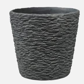 Dayton Saksı Taş Desen 14Cm. Siyah