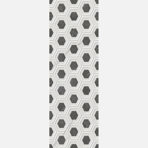 25X75 cm Rp-7132 Sempre Hexagon Dekor-X  1Kutu=1,875 m2