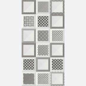 30X60 cm Rp-8394 Arıa Siyah Modern-X  1Kutu=1,62 m2