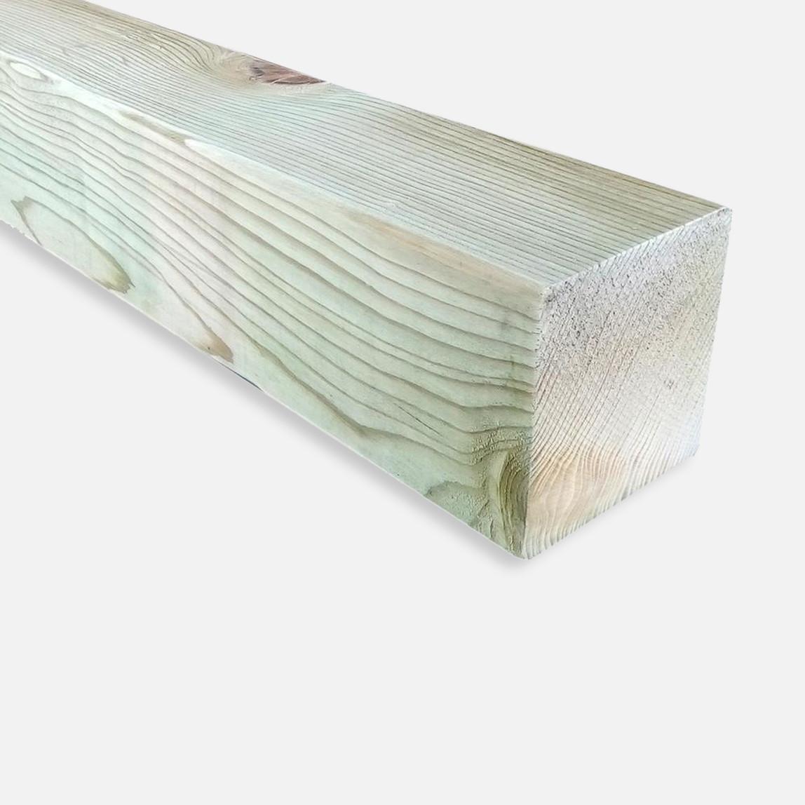Ladin Yeşil Emprenyeli Kereste Silinmiş
