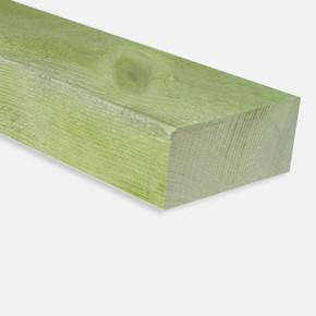 Ladin Düz Yeşil Emprenyeli Rendesiz Kereste