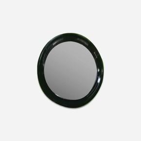 Cunda 60 cm Oval  Siyah Ayna
