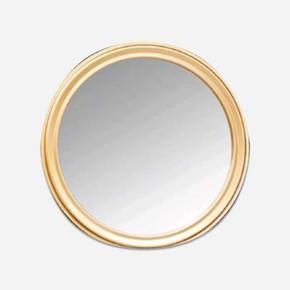 Cunda 60 cm Oval  Altın Ayna