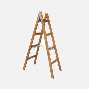Saraylı 4+4 Basamaklı Ahşap Merdiven
