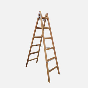 Saraylı 6+6 Basamaklı Ahşap Merdiven