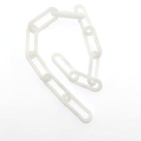 Plastik Zincir No:4 Kırmızı-Beyaz