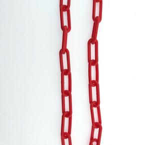 Plastik Zincir No:4 Kırmızı