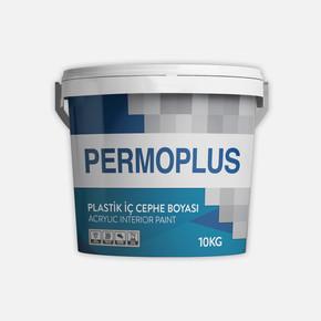 Permoplus Plastik İç Cephe Boyası  10 Kg - Tr-Baz