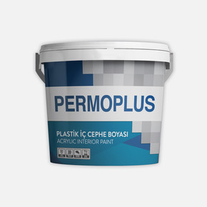 Permoplus Plastik İç Cephe Boyası  3,5 Kg - P-Baz