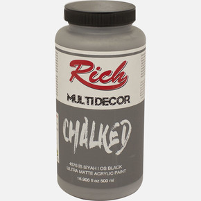 Multi Decor Chalked İs Siyahı 500 cc